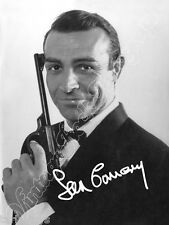 SEAN CONNERY James Bond -  print signed photo - foto con autografo stampato