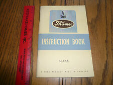 September 1948 1/2 Ton Thames Instruction Book by Ford Owner's Guide -  N.A.S.S
