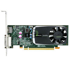 nVidia Quadro 600 1GB DDR3 PCIe x16 DVI DisplayPort Video Card Dell 4J2NX