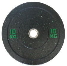 Olympic Bumper Plates Solid Rubber 10 Kg Sold In Pairs