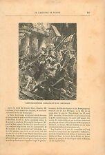 Paris Parisien Anglais Jean Bureau Jacques Coeur 19th XIX GRAVURE OLD PRINT