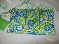 NEW VERA BRADLEY ~ Engish Meadow ~ Travel Wallet Envelope Organizer NWT