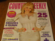 Dolly Parton Covers Country Weekly Magazine May 2010 Brooks & Dunn