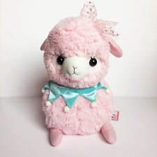 "AMUSE Lovely Jester Baby Alpacasso Light Pink Girl (Big 35cm/14"") Alpaca Plush"