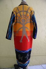 Pendleton Wool Blanket Jacket Coat Aztec Southwestern Native American Indian