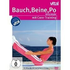 "BAUCH, BEINE, PO ""INTENSIV MIT CORE TRAINING"" DVD NEU"