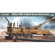 Trumpeter 280mm K5 (E) Leopold German Railroad Gun Kit 00207