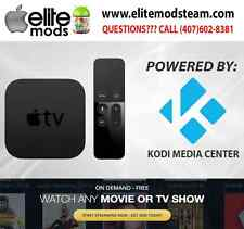 APPLE TV 4- POWERED BY ELITE MODS- 32 GB- MOST STABLE SETUP AUTO ADDON UPDATER