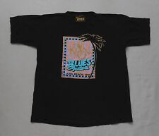 1991 KLON Long Beach BLUES FESTIVAL black T-shirt Sz XL BB KING John Lee HOOKER