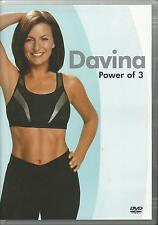 Davina Power Of 3 Exercise Fitness DVD FREE SHIPPING
