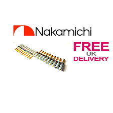 20x Quality Nakamichi Speaker banana plug 24k Gold plated connector **UK**