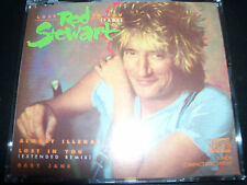 "Rod Stewart Lost In You (Fade) Rare German 3"" CD Single With Adapter"