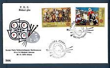TURKEY - TURCHIA - 1975 - BUSTA - Europa Unita - FDC - DIPINTI