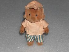 COLLECTOR'S DOG TOY/DOLL- SIMBA BEAR FAMILY TOYS, GERMANY, 1980s