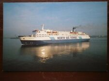 POSTCARD NORTH SEA FERRIES - MV NORSTAR