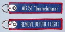 Schlüsselanhänger AG 51 Immelmann Aufklärungsgeschwader 51 .........R1074