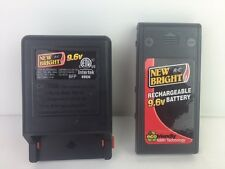 9.6V NiMH New Bright Battery Pack WITH Charger 9.6 Volt