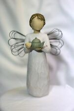 Willow Tree ANGEL of Kitchen teapot cook New mom shower tea kettle wedding GIFT