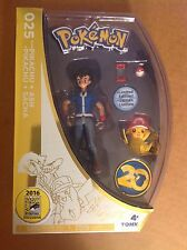 SDCC 2016 exclusive Pokemon 20th Anniversary Ash & Pikachu figure sealed MIB