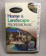 NexGen Home & Landscape Design Professional New Sealed Punch Software Remodel
