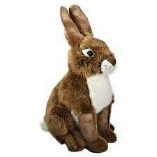 30cm Living Nature Hare Soft Cuddly Toy - Suitable for all ages (0+)