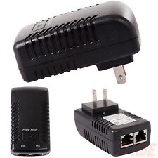 48V-0.5A Wall Plug POE Injector Ethernet Adapter IP Phone/Camera Power Supply US