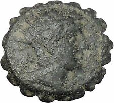ANTIOCHOS VI DIONYSOS 144BC Seleukid Authentic Ancient Greek Coin Nike i47167