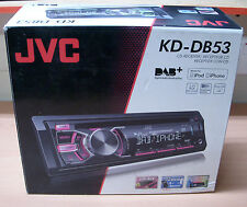 JVC DAB RADIO DIGITALE AUTO FURGONE CD MP3 USB STEREO IPOD IPHONE diretta con antenna