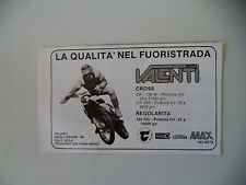 advertising Pubblicità 1981 MOTO VALENTI CROSS CR 125/250