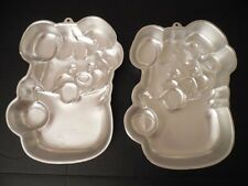 Vintage Lot Of 2 1985 THE POPPLES Wilton CAKE PANS 2105 - 2056 Too Cute! RARE