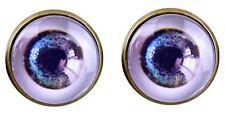 Eyeballs Earrings Blue Eyes Funny Eye Earrings Hipster party Nightclub Stud