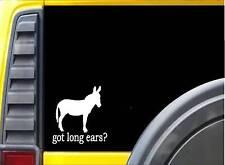 Got long ears Donkey K340 6 inch decal mule sticker