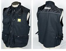 Nikon Photo Vest Official Jacket muti-pockets Size L XL D7100 D5200 Body NEW Kit
