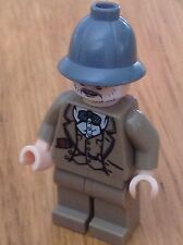 Lego Indiana Jones Minifigura-Henry Jones Sr-SEAN CONNERY-Envío Gratis