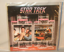 STAR TREK THE TV SERIES - Laserdisc - Where No Man Has Gone Before & The Na...