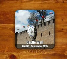 Rugby Ball in Cardiff Castle Wall!