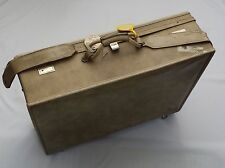Vintage HARTMANN Suitcase Luggage Leather Custom Mid Century Wheels 26""