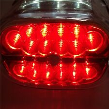 RED Tail Brake Lights For Harley Dyna Sportster 1999-2008 Touring models SMOKE