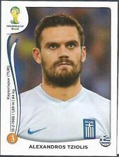 PANINI WORLD CUP 2014- #215-HELLAS-GREECE-ALEXANDROS TZIOLIS
