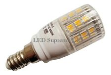 E14 SES 24 SMD LED 350LM 3.8W Warm White Bulb With Cover ~50W