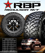 4 New LT 275/65R18 RBP Repulsor MT Tires 275 65 18 LRE Offroad R18