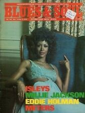 Freda Payne Blues & Soul Issue 148 1974 Isley Brothers Millie Jackson Reggae