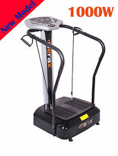 Merax 1000W Full Body Vibration Platform Exercise Machine Crazy Fit Massager