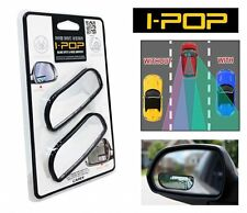 I-POP IPOP Adjustable Car Blind Spot Side Rear View Wide Flat Rectangular Mirror