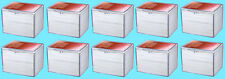 10 ULTRA PRO 150 COUNT CLEAR HINGED CARD STORAGE BOXES Case Holder Sport Trading
