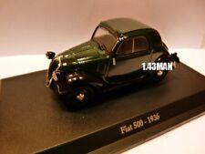 Voiture 1/43 Hachette NOREV FIAT : 500 1936 verte