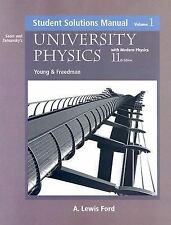 University Physics with Modern Physics: Student Solutions Manual, Volume 1, 11th