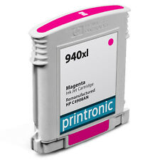 Printronic For HP 940 940XL HP940 HP940XL C4908AN Magenta Ink Cartridge