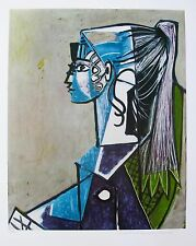 "Pablo Picasso ""PORTRAIT OF SYLVETTE"" Estate Signed Limited Edition Giclee"