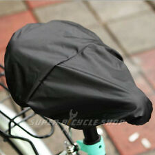 Bicycle Bike Waterproof Saddle Cover , Black